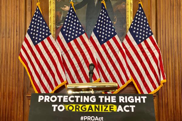 Machinists Union Praises Passage of the PRO Act