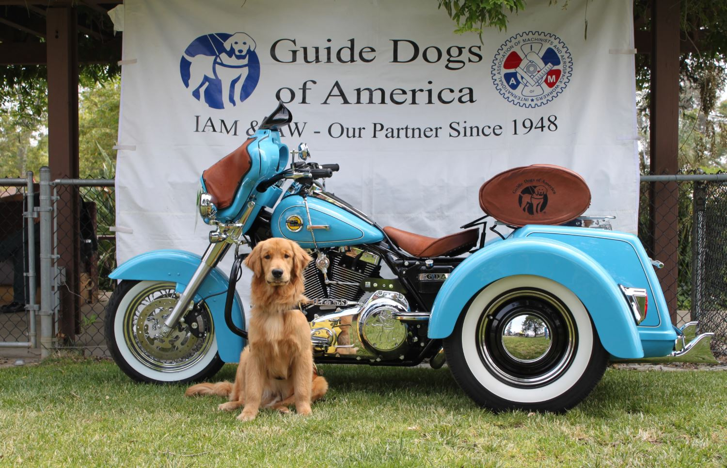 Join the Kourpias K-9 Classic, a 1,700 Mile Motorcycle Ride for GDA June 6-12