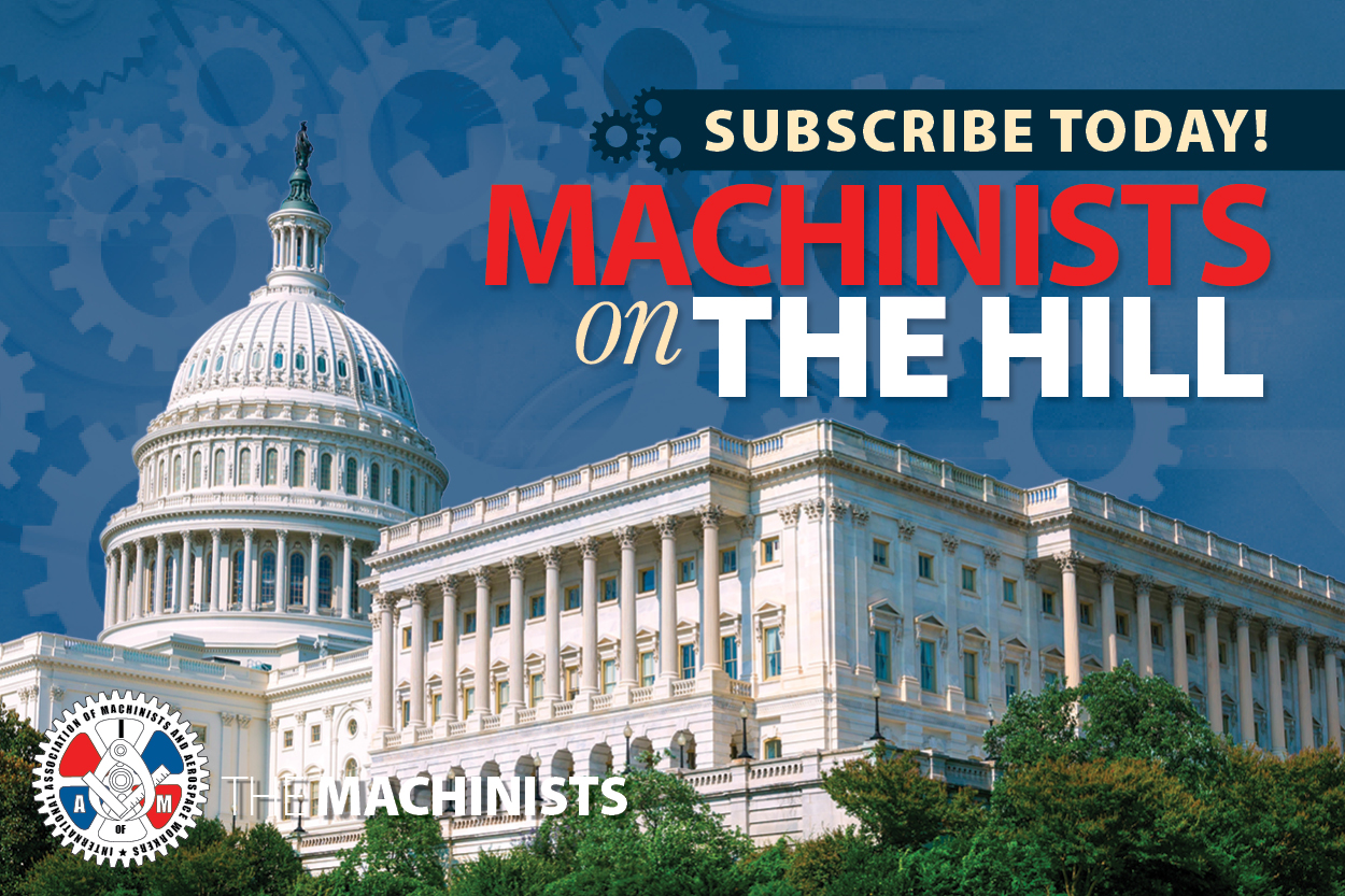 Sign up for the IAM's New Legislative Email Newsletter