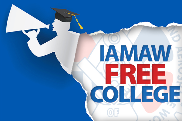 IAM Members, Families Can Complete Bachelor's Degree for Free This Summer