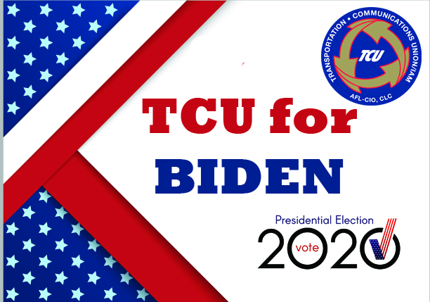 TTD Release – Joe Biden is the Best Candidate for Transportation Workers and their Families