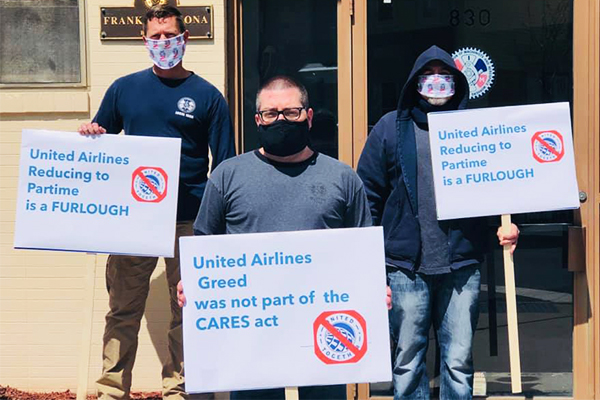 After IAM's Pressure, United Backs Off Forced Furlough Plan