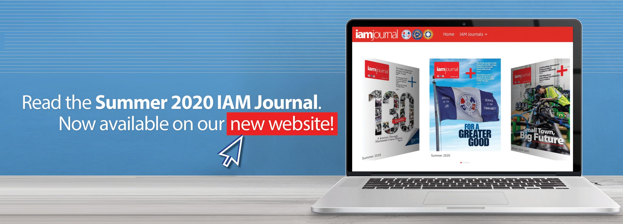 New IAM Journal Website Announcement