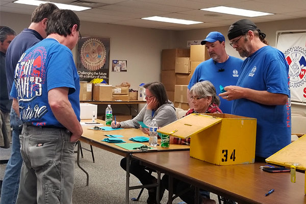 Washington State District 751 Members at Triumph Ratify Contract