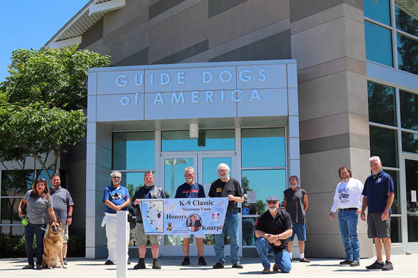 Machinists' Kourpias Motorcycle Ride Raises More Than $50K for Guide Dogs