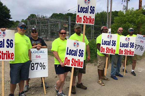As BIW Calls in Strikebreakers, IAM Rallies Around Local S6 Shipbuilders