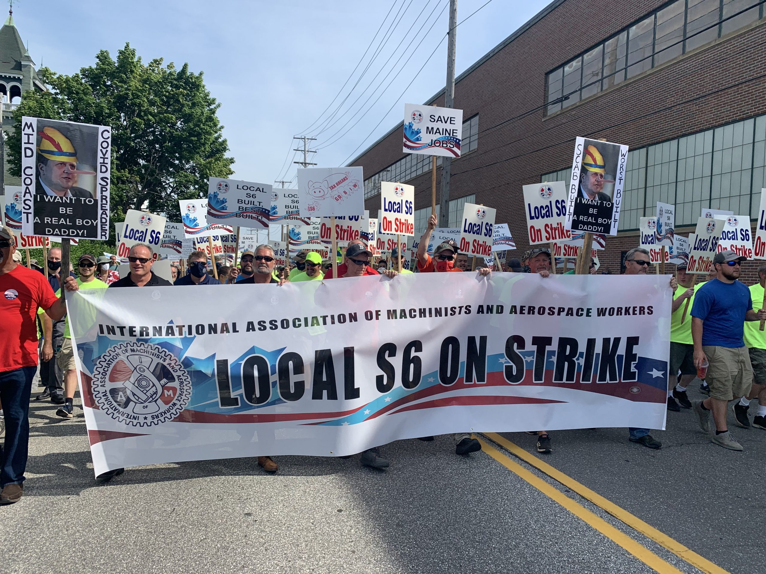 Members of Congress Ratchet Up Pressure on Bath Iron Works to Resolve Local S6 Shipbuilder Strike