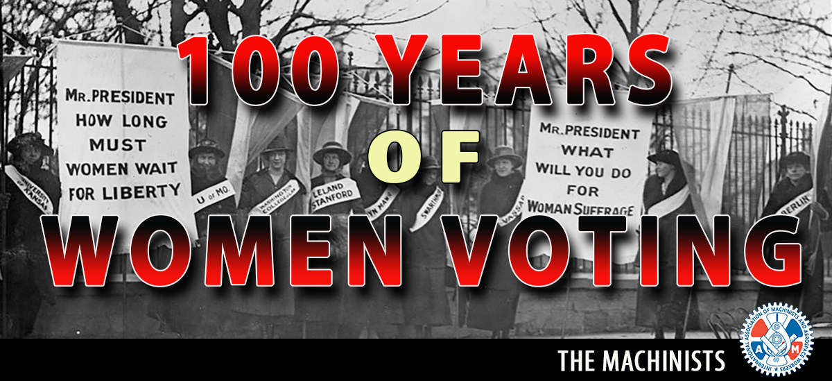 Tonight: Labor Commemorates Women's Right to Vote