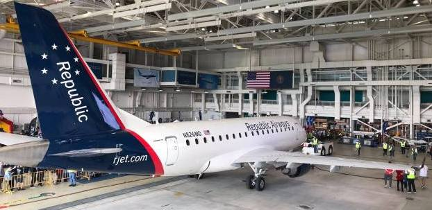 IAM Files for Representation Election for Over 500 Republic Airways Aircraft Maintenance Technicians
