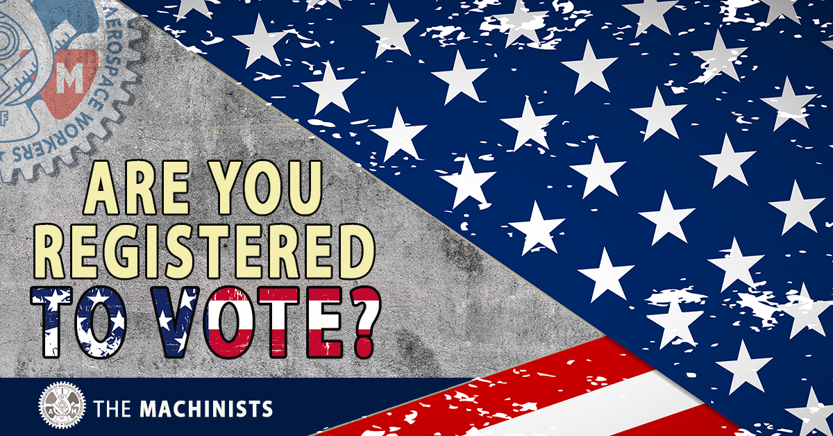 Time for Change! Register to Vote!