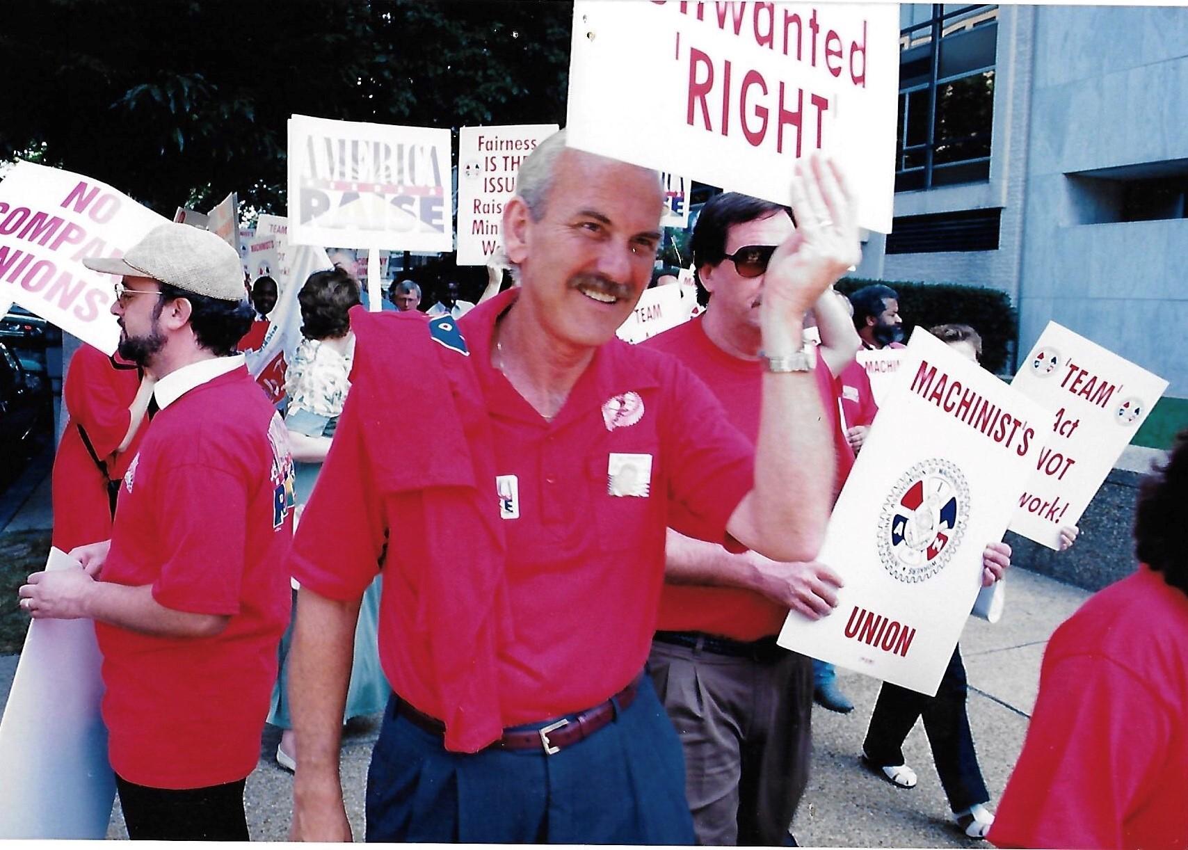 Machinists Mourn IAM Activist Dennis Strahan
