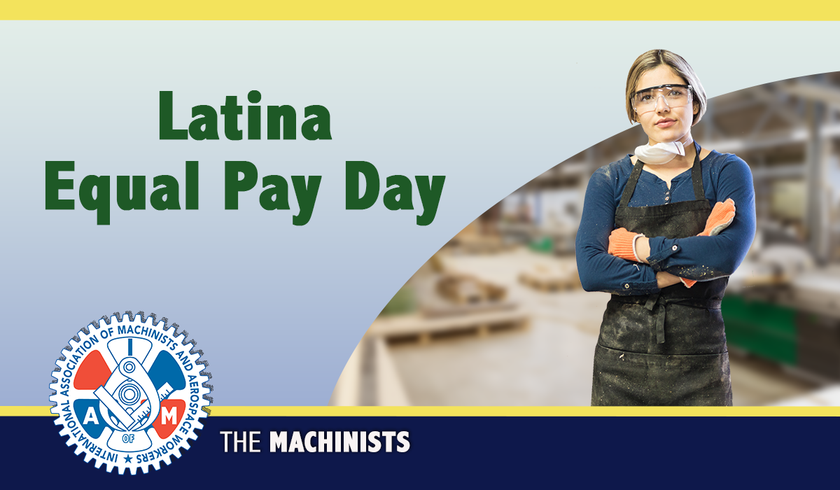 Latina Women's Equal Pay Day