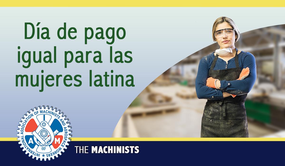Día de pago igual para las mujeres latina