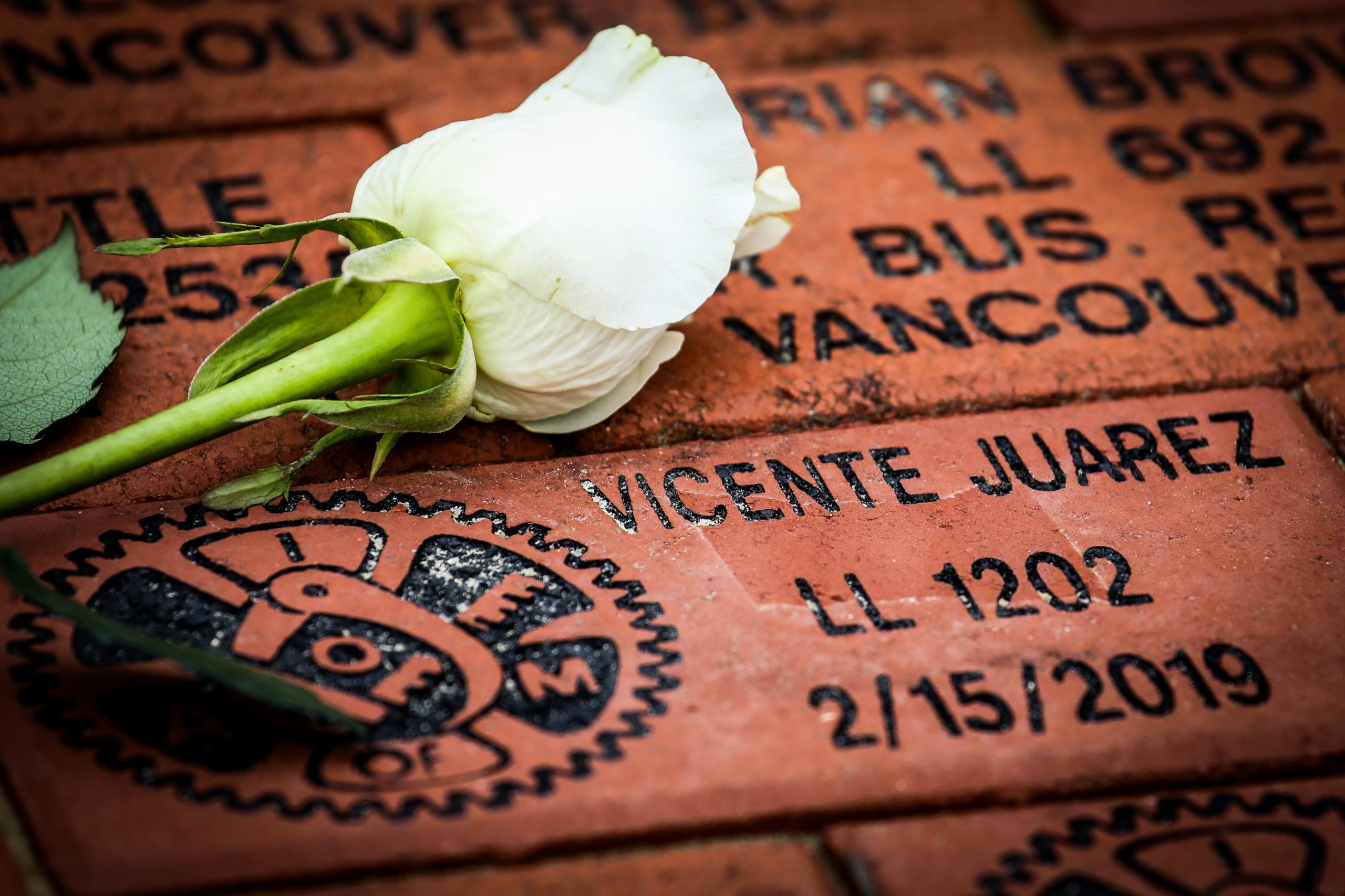Honor a Fallen Member with a Personalized Brick at the IAM Workers' Memorial