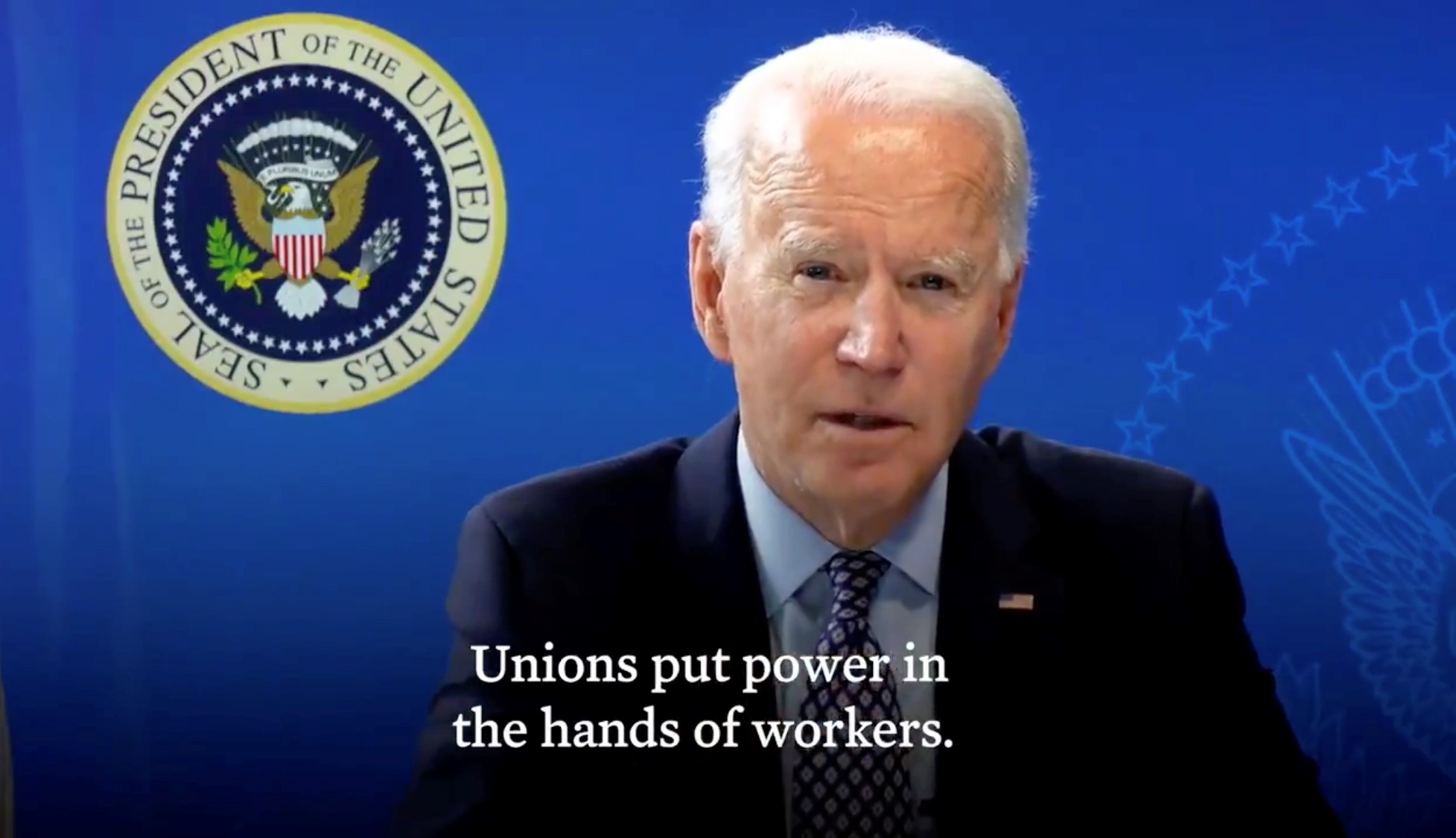 Biden Puts Presidential Support Behind Unions, Alabama Amazon Workers