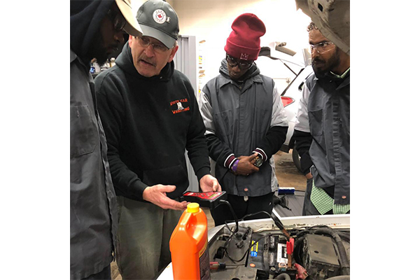Retired Machinist Helping Young Workers Jumpstart Their Careers