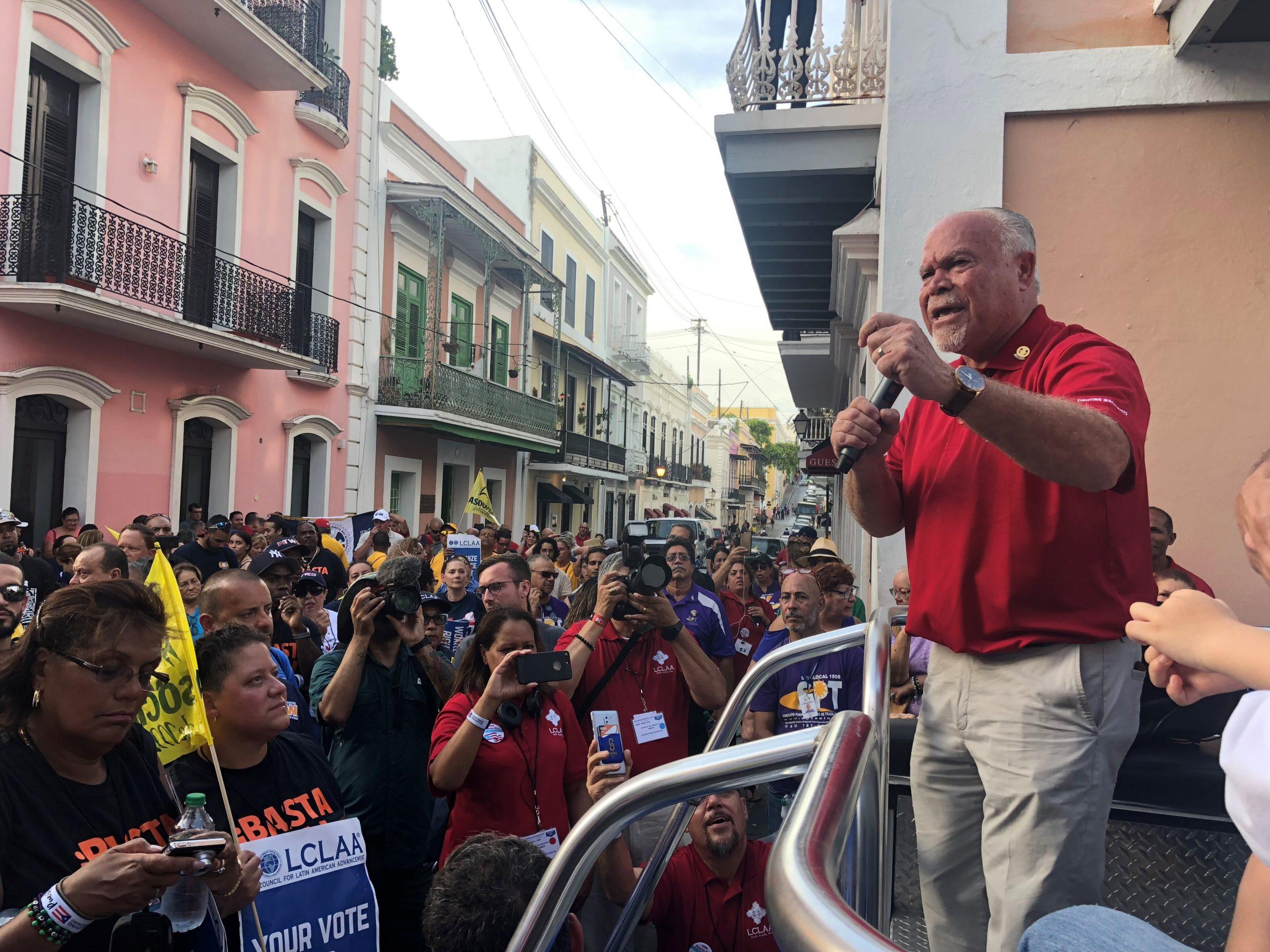 IAM's Rodríguez-Báez Retiring from the Puerto Rico Federation of Labor