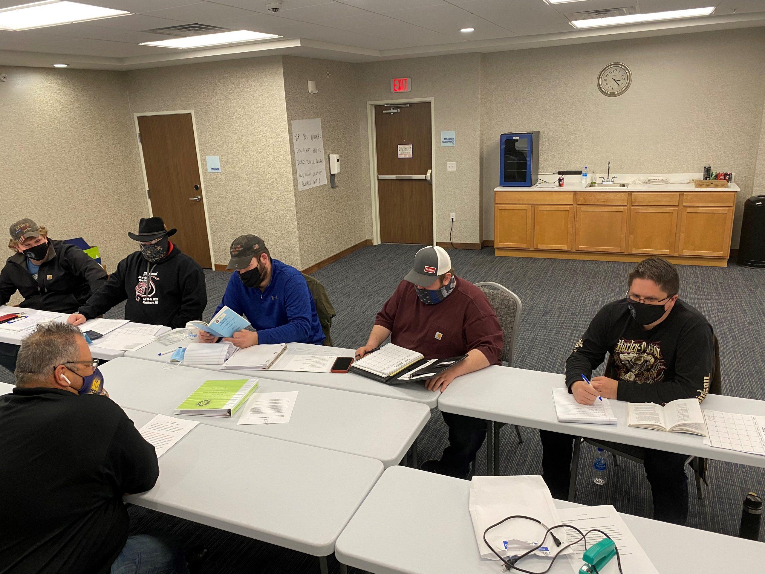 Michigan IAM Local W260 Completes IAM Field Negotiation Prep Class