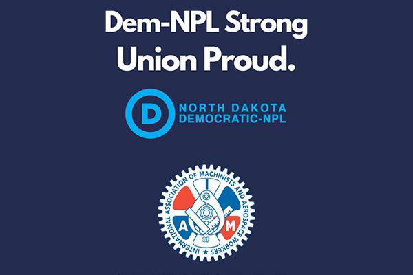 North Dakota Dem-NPL Staff Votes to Join Machinists Union