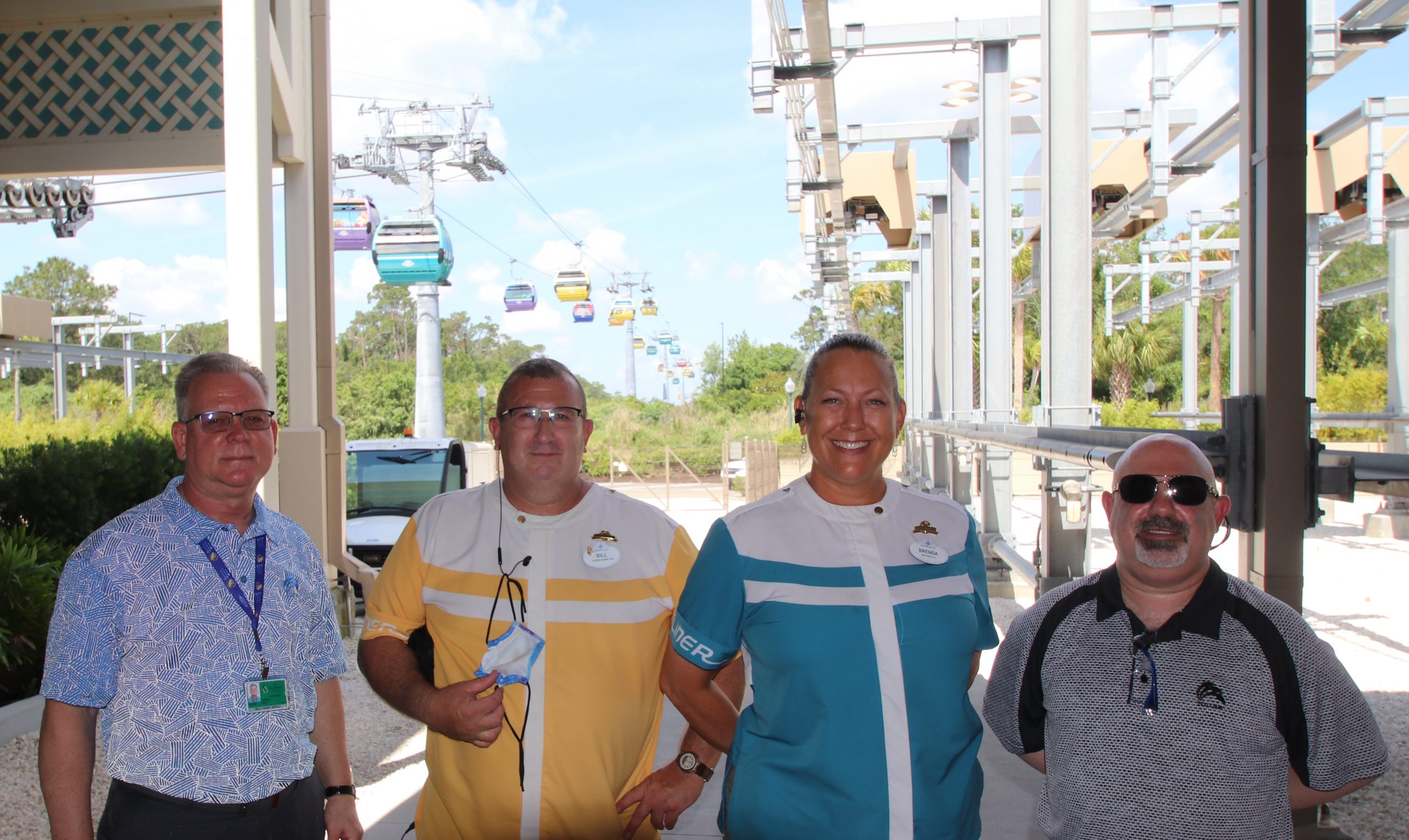 TCU President Maratea Continues to Hit-The-Road and Meets Members at Disney World