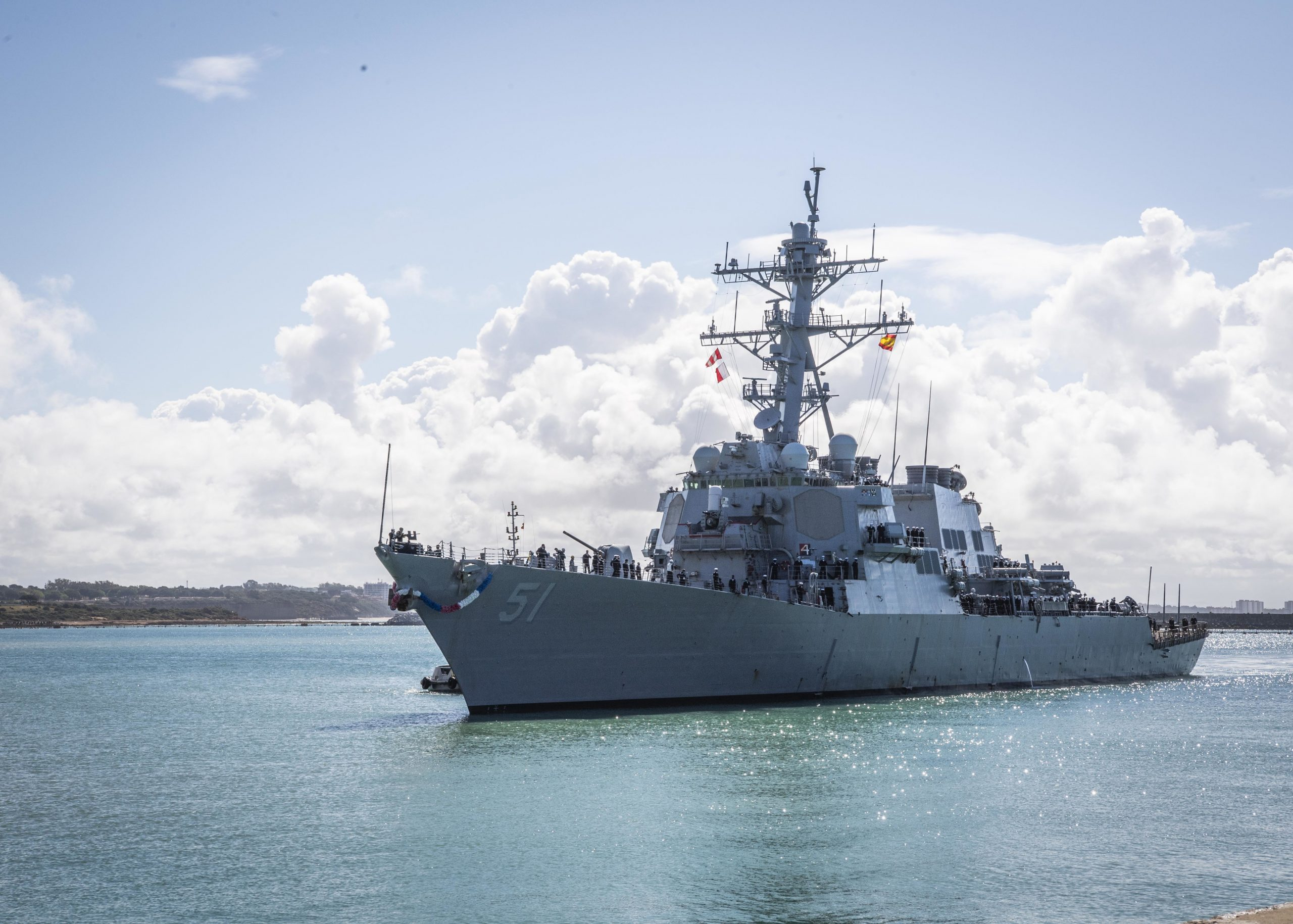 Machinists Union Fighting for Restoration of U.S. Navy Destroyer in Defense Budget