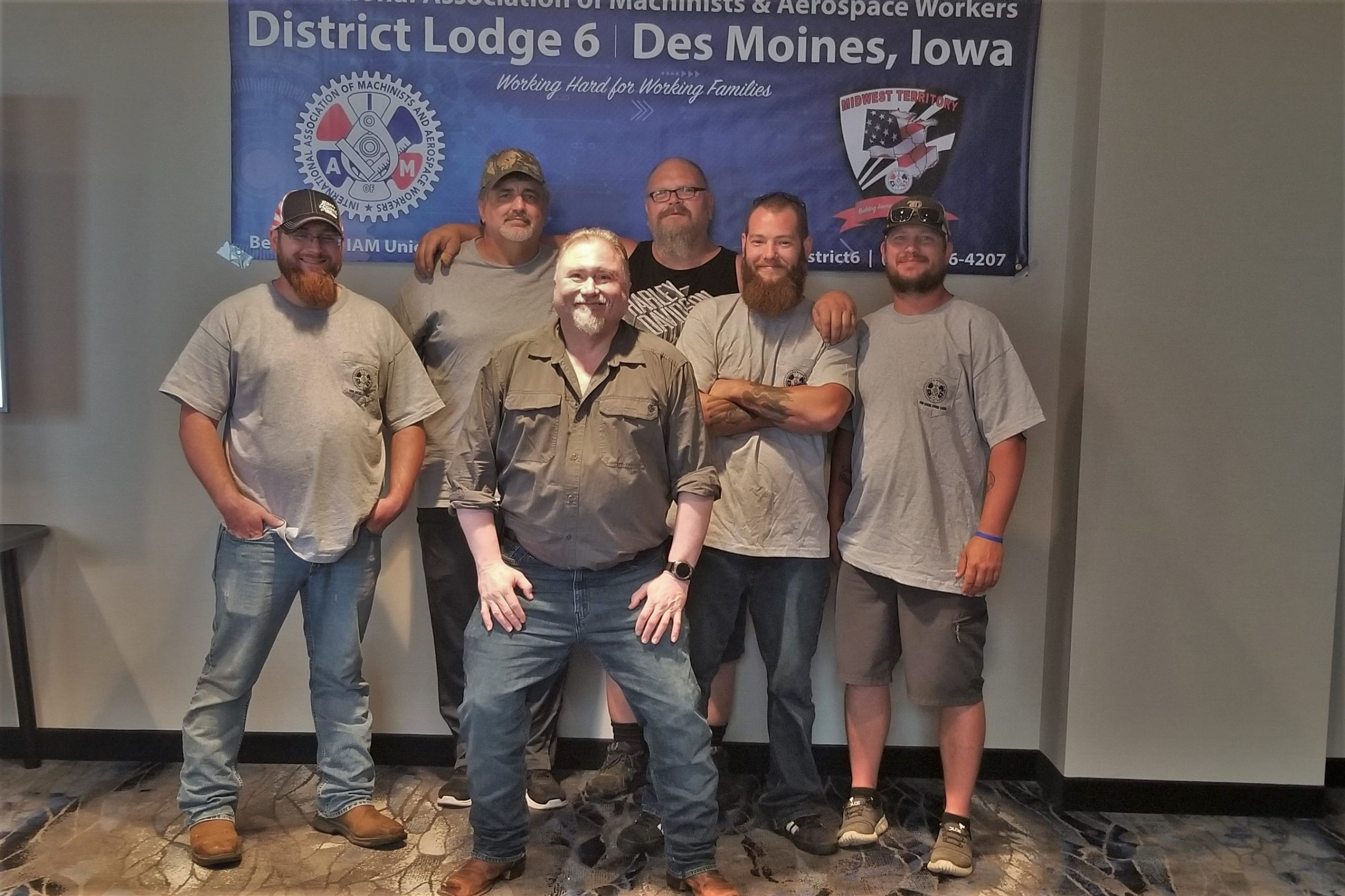 New IAM Local 1498 Members At Clow Valve in Iowa Ratify Strong First Contract