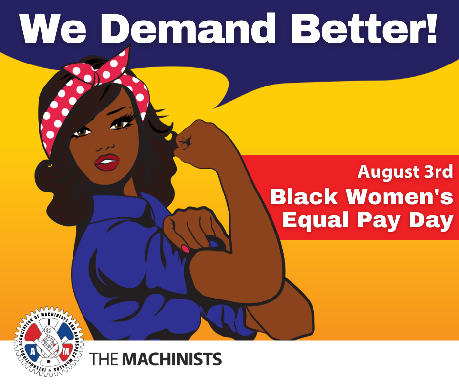 Today is Black Women's Equal Pay Day