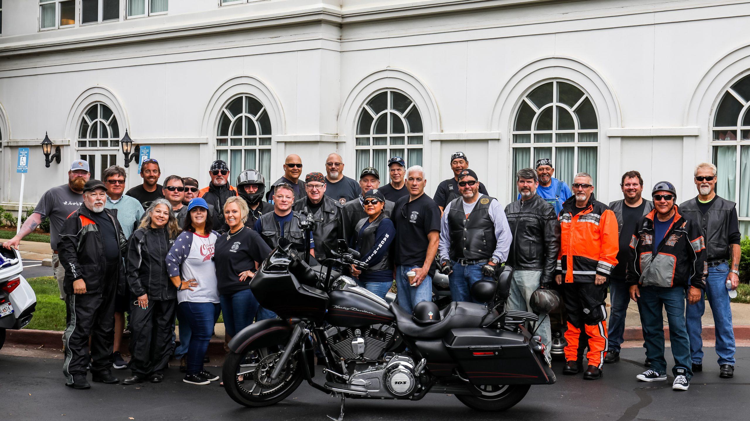 Kourpias K-9 Classic Motorcycle Ride Raises $100K for GDA