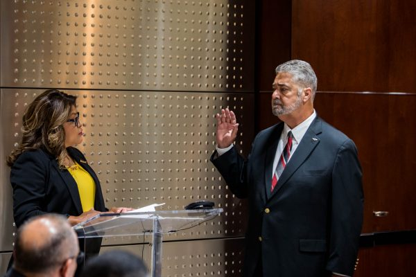 Machinists Union Executive Council, Constitutional Officers Swear In for New Term, Look Toward Bright Future