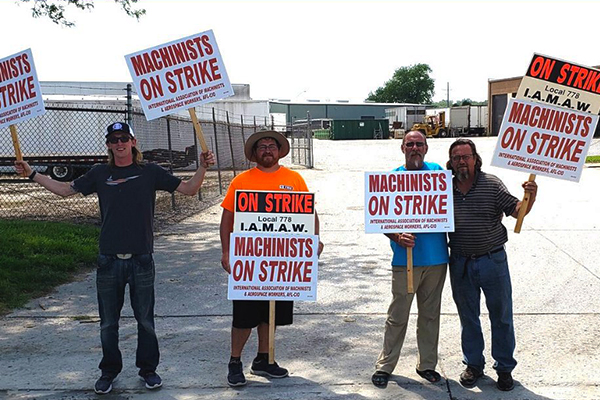 Strike Solidarity Prevails for Kansas City Local 778 Members at Highway Trailer Sales