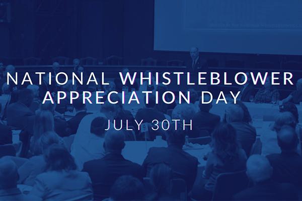 Machinists Celebrate National Whistleblower Appreciation Day