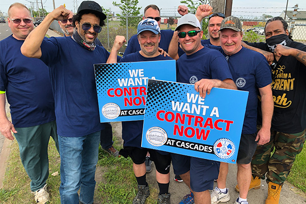 Canadian Machinists Join Calls for Cascades Containerboard to Ink a First Contract with District 65 Members