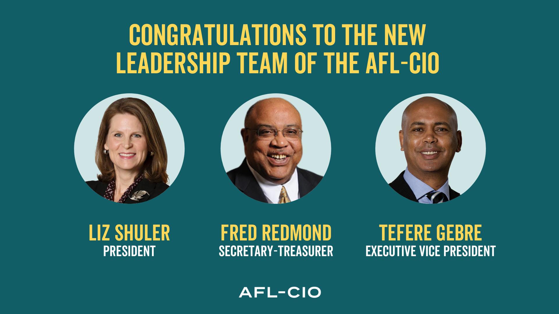 Shuler Elected AFL-CIO President