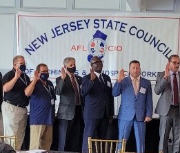 TCU Unit 167 Division Chair Anthony Stevens Elected as Director of the Legislative Department of the New Jersey State Council of Machinists