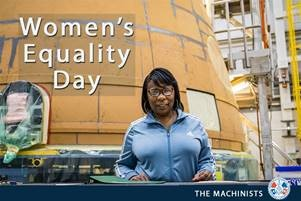 Today We Celebrate Women's Equality Day