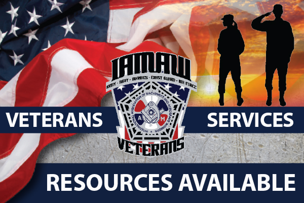 Support Services Available for IAM Veterans
