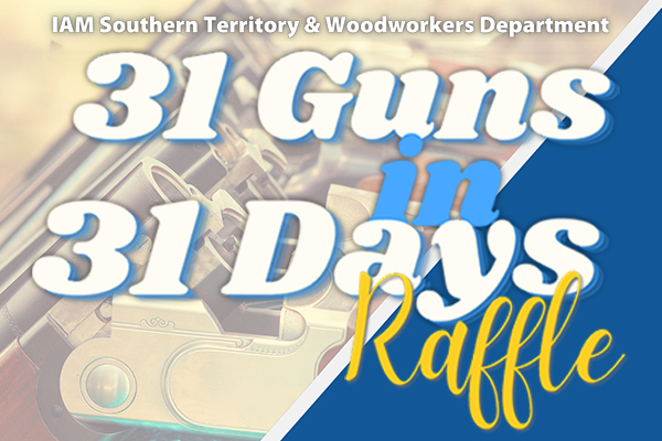 Still Time to Support Guide Dogs of America and Tender Loving Canines with the 31 Guns in 31 Days Raffle