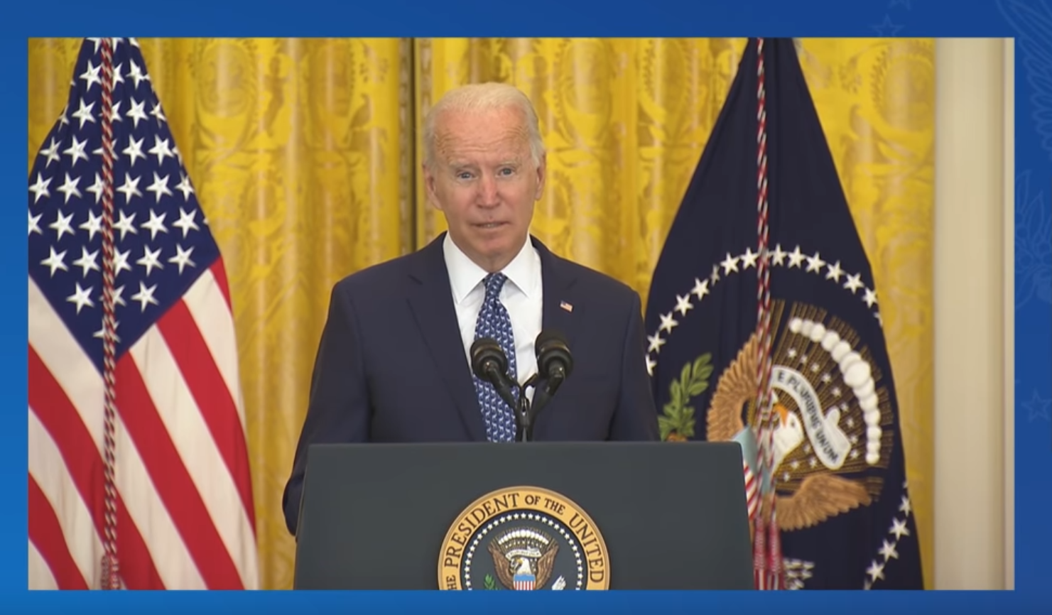 President Biden Honors Labor Unions, Essential Workers at White House
