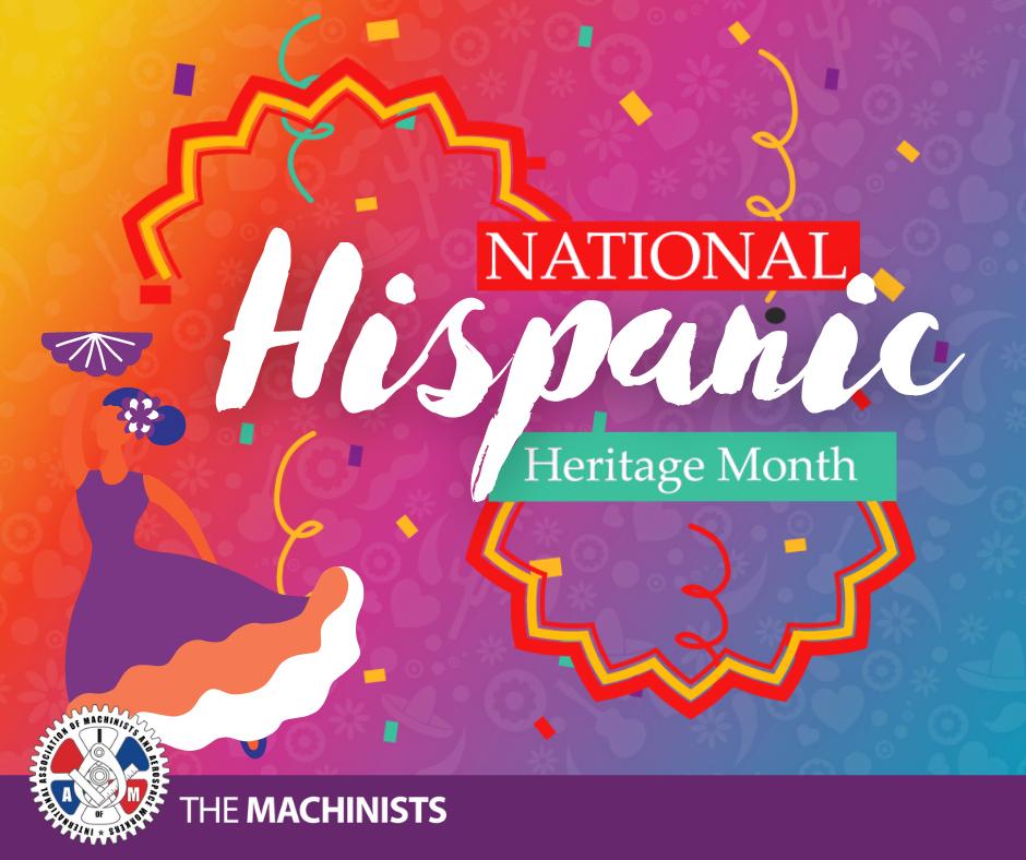 National Hispanic Heritage Month Begins on September 15th
